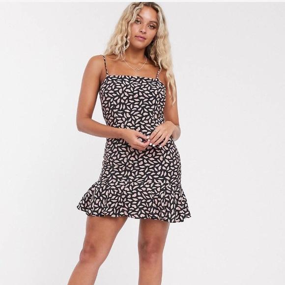 ASOS Dresses & Skirts - The East order Tessa lip print mini dress